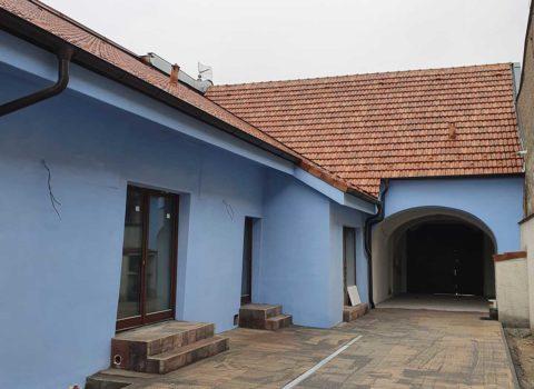 Rekonštrukcia vinárskeho domu – pamiatky, Modra